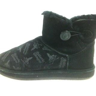 ヒステリックグラマー(HYSTERIC GLAMOUR)のヒステリックグラマー ショートブーツ - 黒(ブーツ)