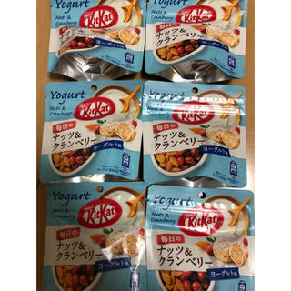 Nestle - キットカット ネスレ チョコレート ヨーグルト ナッツ 6袋