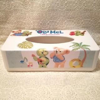 ダッフィー(ダッフィー)のダッフィー&オル・メル&ミッキー&シェリーメイ☆ティッシュケース&スタンドBOX(ティッシュボックス)