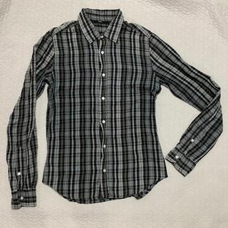 エディション(Edition)のedition  チェックシャツ 46(シャツ)