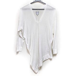 ジャンポールゴルチエ(Jean-Paul GAULTIER)のゴルチエ 長袖セーター サイズ40 M美品  白(ニット/セーター)