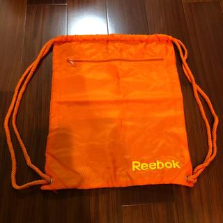 リーボック(Reebok)の新品未使用★リーボック★ポケット付きナップザック★靴入れ(バッグパック/リュック)