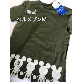 ベルメゾン(ベルメゾン)の◆新品◆ベルメゾン ミッキーマウスTシャツ M(Tシャツ/カットソー(半袖/袖なし))