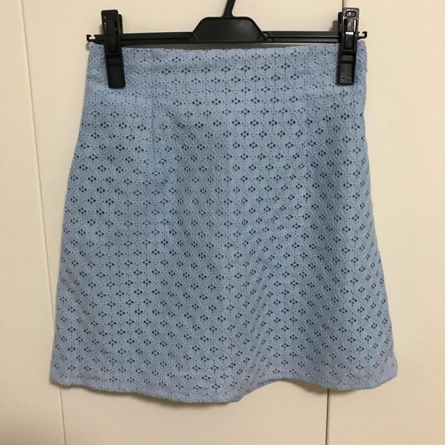 snidel(スナイデル)のレーススクエアタイトスカート スナイデル レディースのスカート(ミニスカート)の商品写真