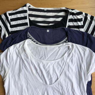 ムジルシリョウヒン(MUJI (無印良品))の授乳用Tシャツ 無印(マタニティトップス)
