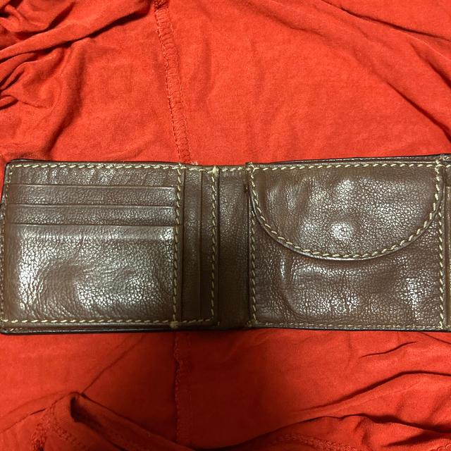 FOSSIL(フォッシル)のFOSSIL 二つ折財布 中古 メンズのファッション小物(折り財布)の商品写真