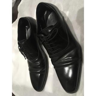 アオヤマ(青山)のビジネスシューズ 革靴 ストレートチップ PSFA 黒(ドレス/ビジネス)