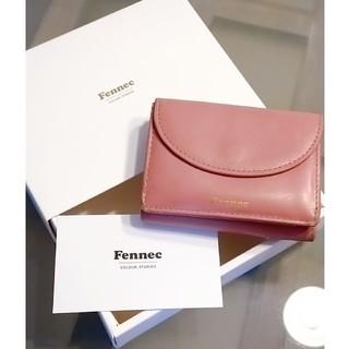 ディーホリック(dholic)のFennec フェネック 財布 三つ折財布 ピンク ミニ財布(財布)