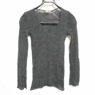 ミュウミュウ(miumiu)のミュウミュウ 長袖セーター サイズ42 M -(ニット/セーター)