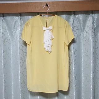 ミュウミュウ(miumiu)のmiu miu シルク ブラウス(シャツ/ブラウス(半袖/袖なし))