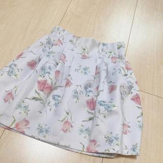 ダズリン(dazzlin)のdazzlin チューリップスカート(ミニスカート)