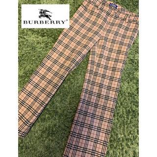 バーバリー(BURBERRY)の【大人気!】Burberry ノヴァチェック柄 パンツ ズボン(カジュアルパンツ)