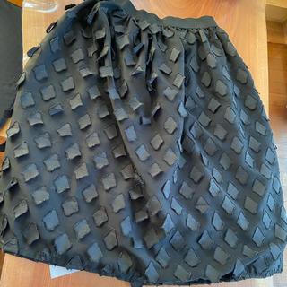 アンティカ(antiqua)のアンティカ ウエストゴム スカート (ひざ丈スカート)