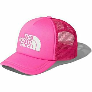 ザノースフェイス(THE NORTH FACE)の新品THE NORTH FACEノースフェイス キッズ メッシュキャップ ピンク(帽子)