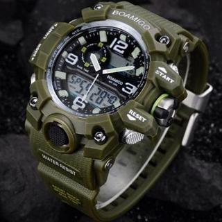 ■2020新品!■ダイバーズウォッチ カーキベゼル メンズ レディース 腕時計(腕時計(デジタル))