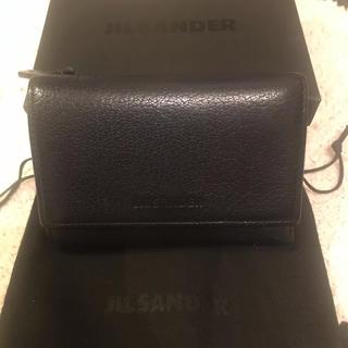 ジルサンダー(Jil Sander)のJIL SANDER ベビーウォレット ネイビー(財布)