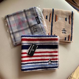 マンシングウェア(Munsingwear)のハンカチ3枚セット(ハンカチ/ポケットチーフ)