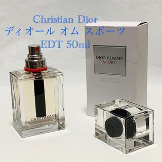 クリスチャンディオール(Christian Dior)のCHRISTIAN DIOR ディオール オム スポーツ EDT 50ml 香水(香水(男性用))