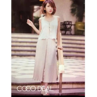 ココディール(COCO DEAL)のCOCODEAL紗栄子さん着用セットアップ(セット/コーデ)