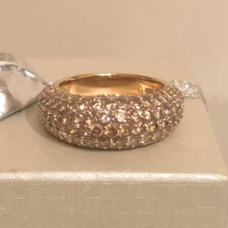 ポンテヴェキオ(PonteVecchio)のk18 ダイヤモンドリング パヴェ ポンテヴェキオ(リング(指輪))