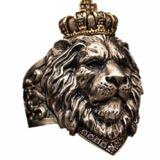 ライオンリング 指輪 アクセサリー(リング(指輪))