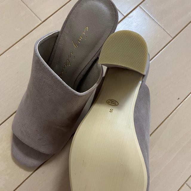 eimy istoire(エイミーイストワール)のeimy新品チャンキーヒールサンダルs レディースの靴/シューズ(サンダル)の商品写真