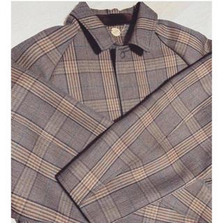サンシー(SUNSEA)のsunsea サンシー 19AW Caramel Check Coat コート(ステンカラーコート)