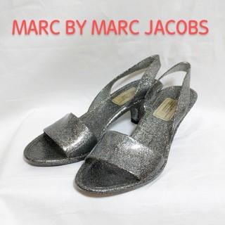 マークバイマークジェイコブス(MARC BY MARC JACOBS)の【MARC BY MARC JACOBS】ラメ ラバー サンダル(サンダル)