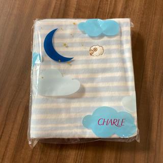 シャルレ(シャルレ)のCHARLE♡ピローケース(ライトブルー)(シーツ/カバー)