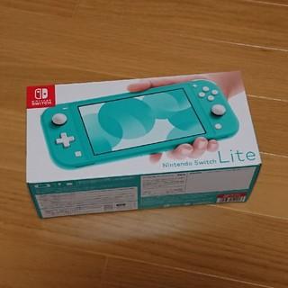 ニンテンドースイッチ(Nintendo Switch)の任天堂 スイッチ ライト ターコイズ(携帯用ゲーム機本体)