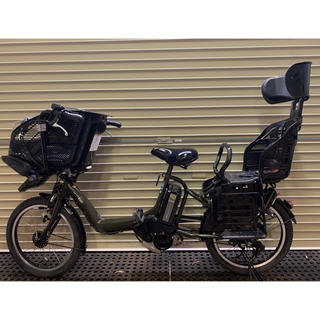 ヤマハ(ヤマハ)のYAMAHA PAS kiss カーキ 8.9AH 新基準 電動アシスト自転車 (自転車本体)