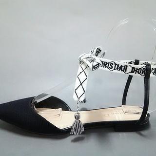 クリスチャンディオール(Christian Dior)のクリスチャンディオール サンダル 37美品 (サンダル)