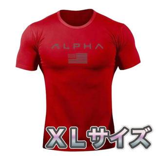 アルファ(alpha)のジムウェア 筋トレ アルファTシャツ(Tシャツ/カットソー(半袖/袖なし))