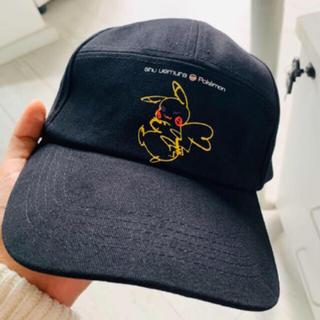 シュウウエムラ(shu uemura)のshu uemura シュウウエムラ×ポケモンコレクション キャップ 帽子 新品(キャップ)