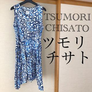 ツモリチサト(TSUMORI CHISATO)のTSUMORICHISATO ツモリチサト ワンピース チュニック 大きいサイズ(ひざ丈ワンピース)