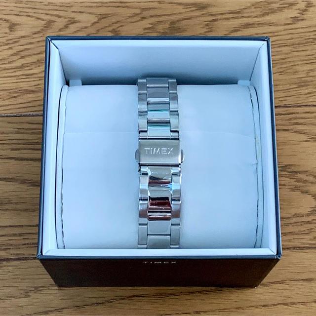 TIMEX(タイメックス)の[新品]TIMEX Easy Reader シルバー/ホワイト メンズの時計(腕時計(アナログ))の商品写真