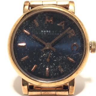 マークバイマークジェイコブス(MARC BY MARC JACOBS)のマークジェイコブス 腕時計 MBM3332 黒(腕時計)