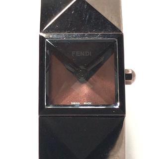 フェンディ(FENDI)のフェンディ 腕時計 - 4260L レディース(腕時計)