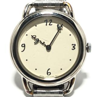 アニエスベー(agnes b.)のアニエスベー 腕時計 V700-6220 レディース(腕時計)