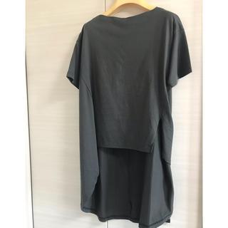ルカ(LUCA)のLUCA   バックロングTシャツ(Tシャツ(半袖/袖なし))