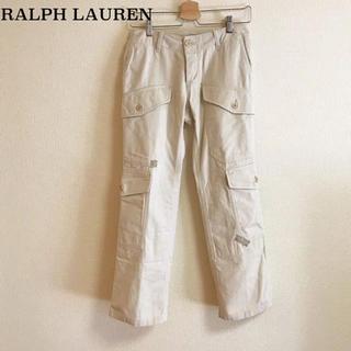 ラルフローレン(Ralph Lauren)のRALPH LAUREN コットンカーゴパンツ サイズ7(ワークパンツ/カーゴパンツ)