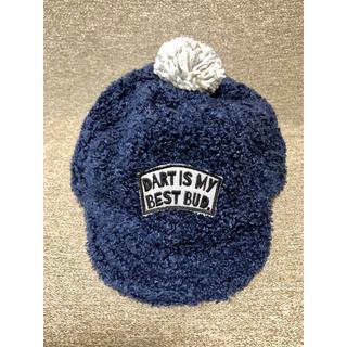 アンパサンド(ampersand)のベビー キッズ 帽子 キャップ ポンポン帽子 ニット帽 46(帽子)