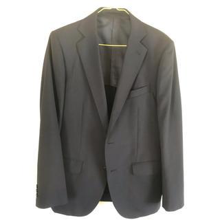 テットオム(TETE HOMME)のBlackon テットオム スーツ 未使用品 ネイビー ストライプ A7サイズ(セットアップ)