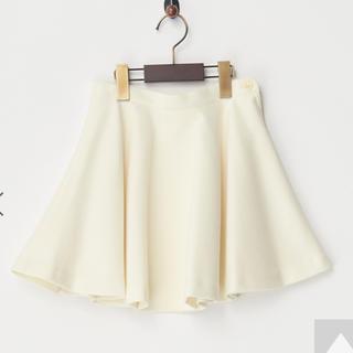 ザラキッズ(ZARA KIDS)のLoistar ホワイト フレアスカート 120cm(スカート)