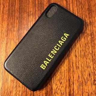 バレンシアガ(Balenciaga)のバレンシアガ スマホケース iphoneⅩ/ⅩS(iPhoneケース)