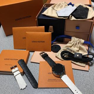 ルイヴィトン(LOUIS VUITTON)のルイヴィトン 腕時計 タンブール ホライゾン v2 美品(腕時計(デジタル))
