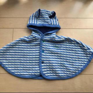 アンパサンド(ampersand)のポンチョ おくるみ コート カーディガン 羽織りもの アウター (ジャケット/コート)