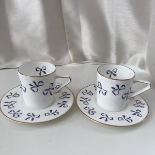 イヴサンローランボーテ(Yves Saint Laurent Beaute)のイブサンローラン カップアンドソーサー 食器(食器)