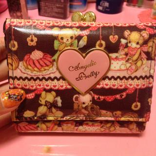アンジェリックプリティー(Angelic Pretty)の♡アンプリ♡スイーツベア二つ折り財布(財布)