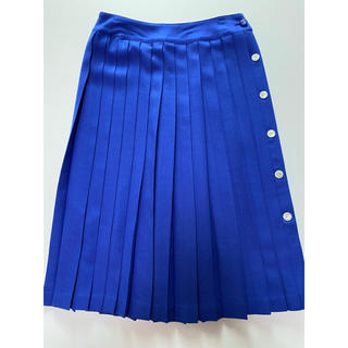 マリンフランセーズ(LA MARINE FRANCAISE)のマリンフランセーズ ウール100% スカート  ブルー(ロングスカート)